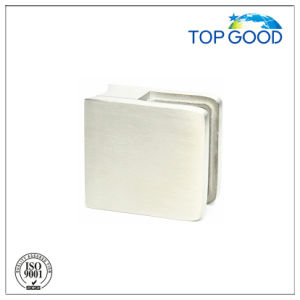 Top Good Stainless Steel Square Balustrade Glass Clamps (80100)