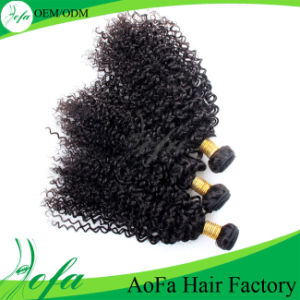 No Shedding Tangle Free Cheap Virgin Mongolian Kinky Curly Hair pictures & photos