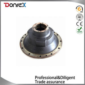 Flange for Auto Parts, Comes in Ductile Iron and Gray Iron