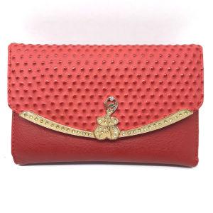 1c5ba2a40 Lcq-26 Latest Original Design Fashionable Purse PU Ostrich Leather Wallet  for Women