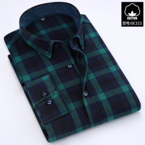 Casual Shirts Slim Fit 100% Cotton Casual Dress Shirts pictures & photos