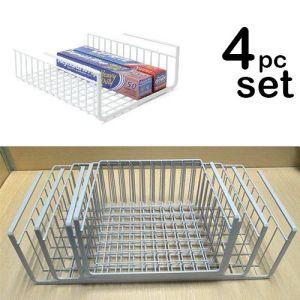 China Set Of 4 Cabinet Wire Hanging Basket Shelves China
