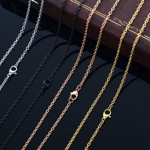 Wholesale Fashion Accessories High Polished Stainless Steel Cross Chain