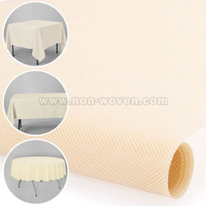100% Polypropylene Tablecloth 8# Beige pictures & photos