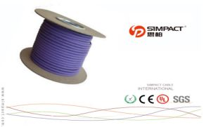 Shielded Twisted Pair Cable (STP), 4 Pairs, Solid, CAT6, Outdoor pictures & photos