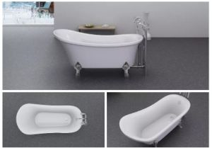 China Lowest Price Upc Certified Antique Style Clawfoot Bathtub