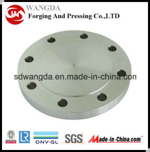 "4"" Round Pipeline Bottom Valve Connecting Flange Carbon Steel pictures & photos"