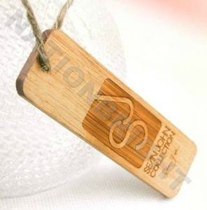 Wooden Hang Tag