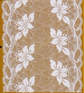 New Production of Broad Lace Trim for Women′s Underwear and Lingerie