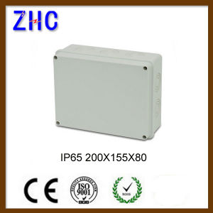 150*150*70 Rt Waterproof Outdoor PVC Plastic Cable Connection Enclosure Box pictures & photos