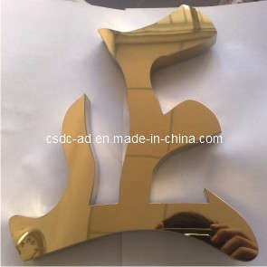 LED Luminous Signs/Authentic Gold Word/Advertising Sign (HLAD-11)