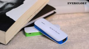 Portable Wireless WiFi Power Bank 4400mAh Capacity (OM-PW137) pictures & photos