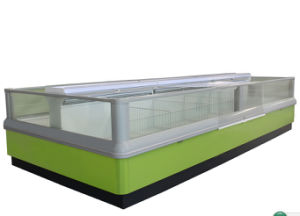 Double Island Freezer for Frozen Food pictures & photos