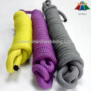 9mm Solid Colour Braided PP Rope for Decoration pictures & photos