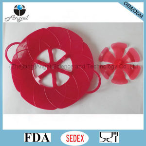Silicone Spill Stopper, Silicone Pot Pan Lid SL02