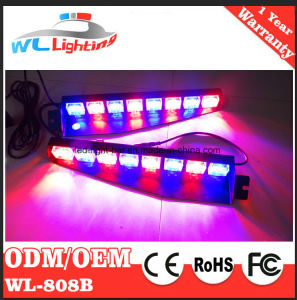 LED Visor 48 LED Truck Emergency Interior Warning Light Bar