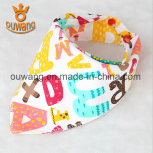 New fashion Hot Sale Baby Bandana Drool Bib Made in China pictures & photos