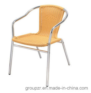 PE Rattan + Aluminium Tube Garden Leisure Chair