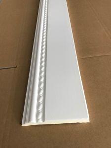 80ff7a6660 China Flat Plain Polyurethane Material Floor PU Skirting Line PU ...