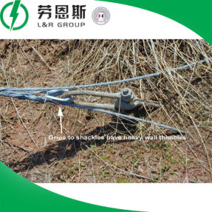 Preformed Guy Grips/Dead End Tension Clamps/Heliformed Clamps/Galvanized Steel Strand for Adsr Cable pictures & photos