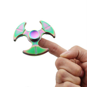 Newest Fidget Spinner High Quality Zinc Alloy EDC Hand Spinner for Autism and Adhd Rotation Time Long Anti Stress Toys Kid Gift