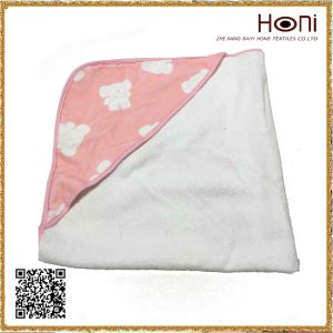 D-026 Baby Animal Printed Hooded Bath Towel