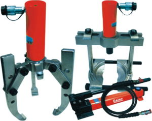 Three Legs/Two Legs Hydraulic Puller Harmonic Balancer Puller Pitman Arm Puller pictures & photos