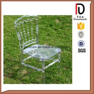 Plastic Wedding Clear Resin Transparent Napoleon Chair pictures & photos