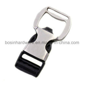 Metal Plastic Side Release Buckle Bottle Opener pictures & photos