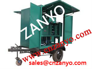 Mobile Used Transformer Oil Treatment Machine