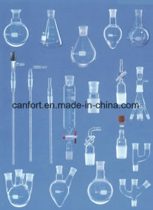 Industrial ware laboratory equipment, instruments, equipment and glassware made of glass, quartz and