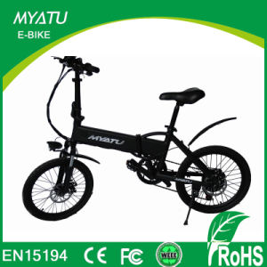 Factory Price Best Selling 20′′ 36V Mini Kids Cheap Folding Electric Bike pictures & photos