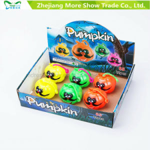 Flashing Sounding Light-up Spiky Puffer Ball Pumpkin Toys pictures & photos