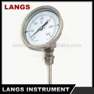 027 Universal Connection Industry Digital Bimetal Thermometer pictures & photos