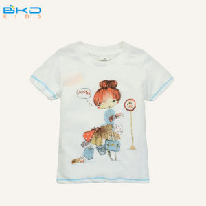 Custom Design Baby Clothes Round Neck Kids Boy T-Shirt pictures & photos