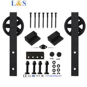 New High Quality Wooden Sliding Door Hardware (LS-SDU-020)