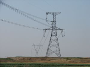 Transmission Tower in China
