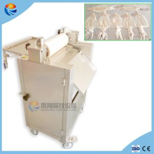 Automatic Squid Plate Sleeve-Fish Skin Skinner Peeling Removing Remover Machine