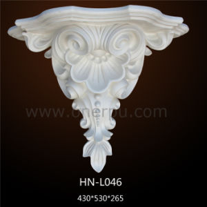 Decorative Interior Pu Corbels Polyurethane For Granite Countertop Hn L046