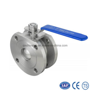 Stainless Steel Italy Type Wafer Ball Valve (AQ71F) pictures & photos
