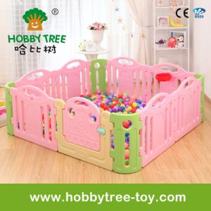 2017 Colorful High Quality Baby Safety Fence at Home Play (HBS17064A)