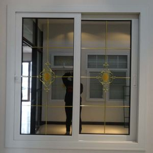 Latest home window design pvc sliding window price for Acrylic windows cost