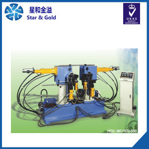 Double Head Hydraulic Pipe Bending Machine