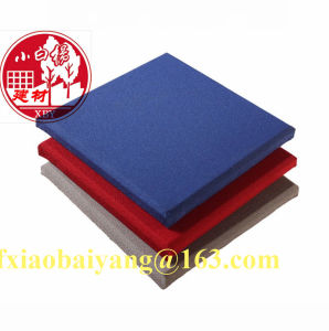 Sound Proof Cloth Fabric Acoustic Panel Wall Panel Ceiling Panel Decoration Panel pictures & photos