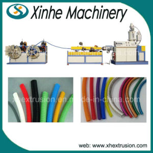 Single Wall Hose/Garden PVC Corrugated Pipe Production/Extrusion Line