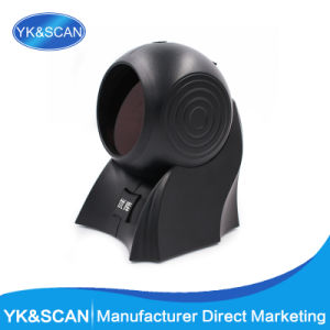 Yk-8120 RS232 Desktop Laser Barcode Scanner with 20 Lines pictures & photos
