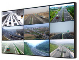 Professional 55 Inch LCD video Wall for Indoor Using pictures & photos