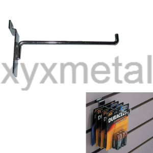 Supermarket Shop Accessories Single Prong Slatwall Hooks - 90 Degree pictures & photos