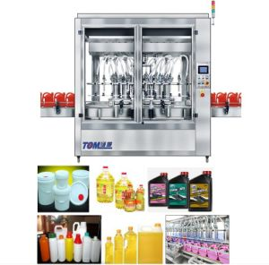 Tom Automatic Piston Inline Filling Machine (Pesticide, chemical, shampoo, oil filling)