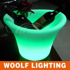 LED Lighting Flower Pot & Used Bar /KTV Outdoor Flower Pot
